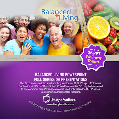 Balanced Living PowerPoint Series - Set of 26 - Download