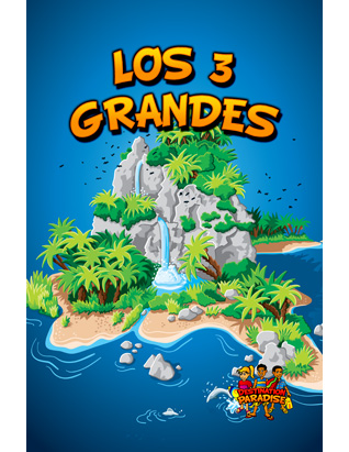 Destination Paradise VBS - The Big 3 Leader's Guide - Spanish (Nature)