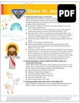Helping Hand Steps to Jesus Award - PDF Download