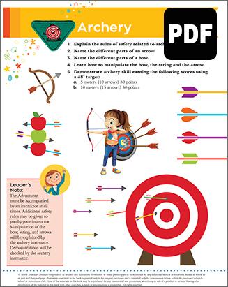Helping Hand Archery Award - DL