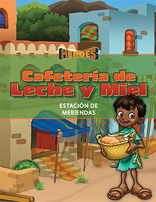 Heroes VBS Milk & Honey Cafe Guide (Snack Station) - Spanish