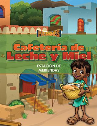 EBV 20 Héroes | Cafetería de Leche y Miel (Estación de meriendas)