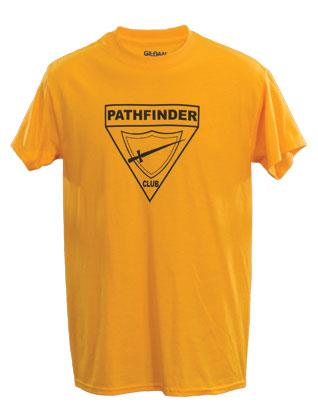 Pathfinder Youth T-Shirt with Triangle (Gold)
