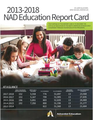 2013-2018 NAD Education Report Card