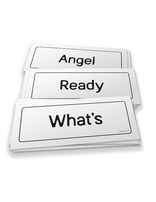 Pre K-2 Word Cards - Three Angels Curriculum