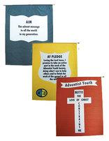 Banderas de Ideales de los Jóvenes Adventistas en Inglés