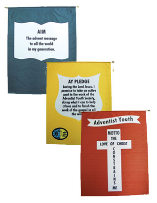 Adventist Youth Banners (English)