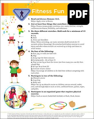 Sunbeam Fitness Fun Award – PDF Download
