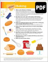 Sunbeam Baking Award – PDF Download