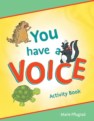 You Have a Voice Activity Book
