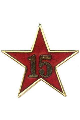 Estrella de Años de Servicio - Quince Años
