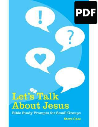 Let's Talk About Jesus - PDF Download