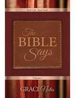 The Bible Says Devotionals Vol. 1