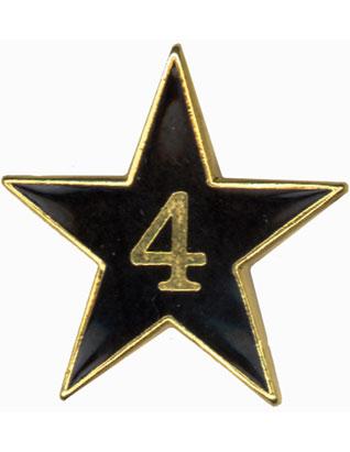 Pin de ELA de 4 años de servicio