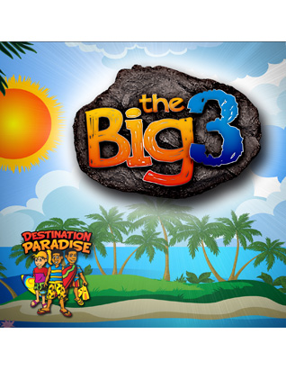 Destination Paradise VBS - The Big 3 DVD