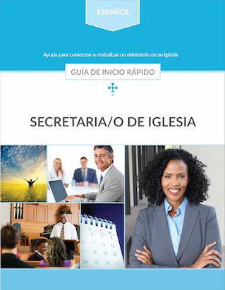 Secretaria/o de Iglesia: Guía de inicio rápido