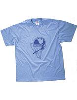 Camiseta Celeste de Conquistadores-Niño