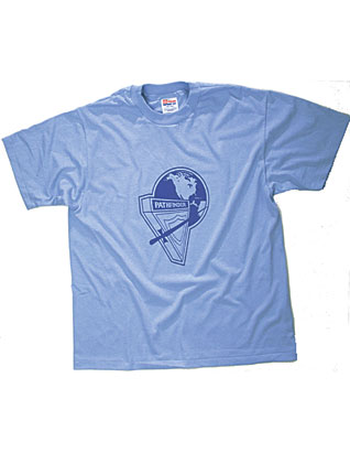 Pathfinder Youth T-Shirt with NAD Logo (Light Blue)