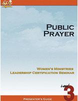 Public Prayer