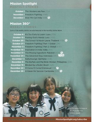 Mission Spotlight DVD 4th Qtr 2018 - Southeastern Asia-Pacific Division