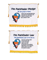 Pathfinder Pledge and Law Banners