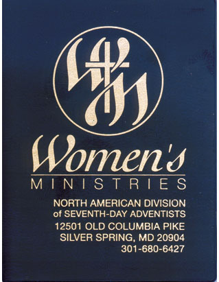 Women's Ministries Post-It Notepad (with cover)