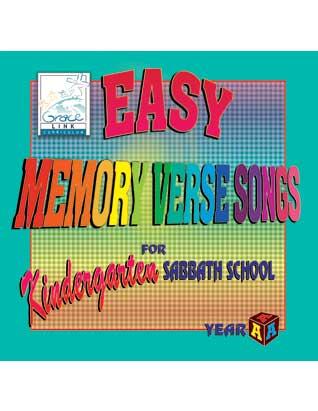 Easy Memory Verse Songs for Kindergarten Sabbath School Year A CD