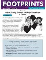 Footprints for Parents & Mentors Study Guide Lesson 6 - 10 copies