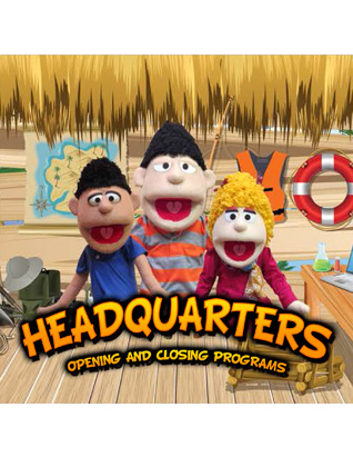 Destination Paradise VBS - Opening and Closing Program DVD