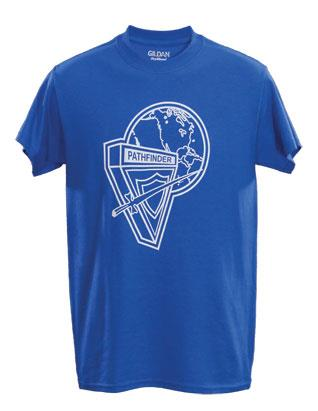 Pathfinder Youth T-Shirt with NAD Logo (Royal Blue)