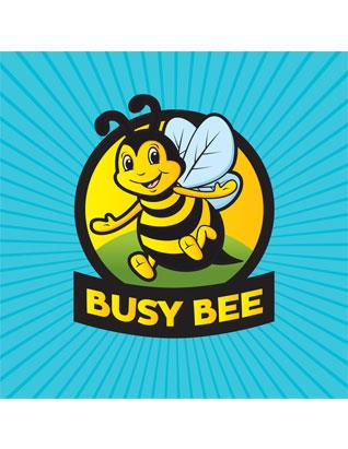 Adventurer Busy Bee Wall Banner