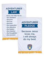 Adventurer Pledge & Law Banner Set (English)