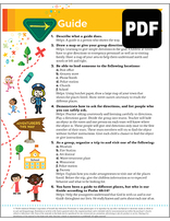 Busy Bee Guide Award - PDF Download