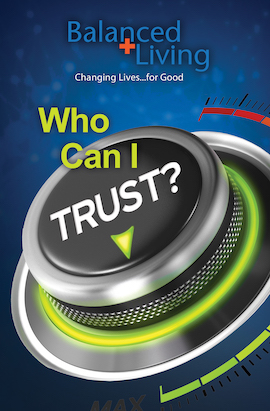 Who Can I Trust? - Balanced Living Tract (Pack of 25)