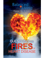 Quenching the Fires of Heart Disease - Balanced Living Tract (Pack of 25)