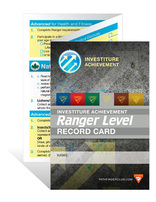 Ranger Record Card - Investiture Achievement
