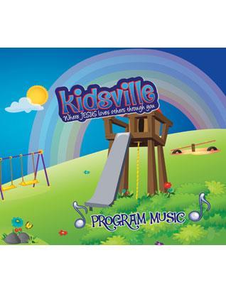 Kidsville VBX Program Music DVD/CD