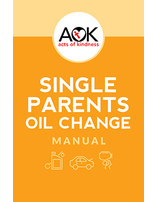 Acts of Kindness - Single Parents Oil Change