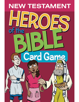Heroes of the Bible New Testament Card Games