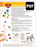 Builder Sewing Fun Award - PDF Download