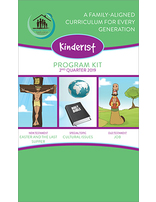 Growing Together SS Curriculum Kinder1st Student Quarterly 2nd Qtr 19 (5-pack) Standing Order