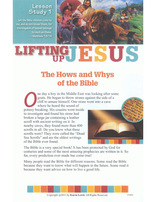 Lifting Up Jesus - Bible Study (Kids)
