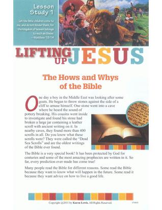 Lifting Up Jesus - Bible Study (Kids)