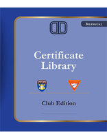 Certificate Library on USB - Club Edition