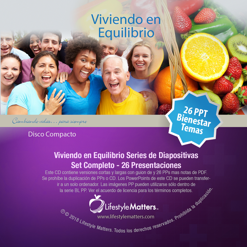 (Spanish) Balanced Living PowerPoint Series - Set of 26 - Download