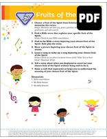 Helping Hand Fruit of the Spirit Award - PDF Download
