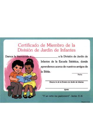 Kingergarten Enrollment Certificate (Spanish) (10)