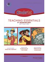 Growing Together Kinder1st Posters - 4th Quarter