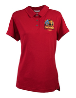 Chosen Women's Staff Polo - Red