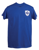 Adventist Community Services Royal Blue T-shirt with 1-Color Logo